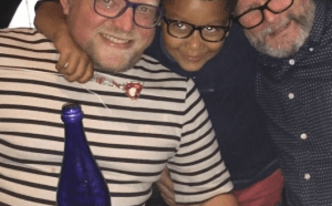 Gay parent adoption story for research