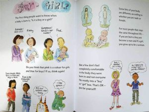 the great big body book, transgender, trans inclusive, trans kids, trans