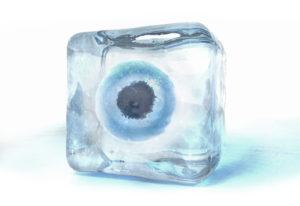 frozen eggs